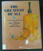 THE GREATEST OF ALL by Eric A. Kimmel