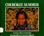 CHEROKEE SUMMER by Diane Hoyt-Goldsmith