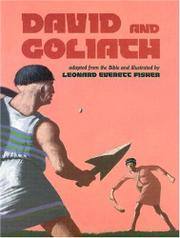 DAVID AND GOLIATH by Leonard Everett Fisher