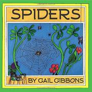 SPIDERS by Gail Gibbons