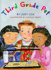 THIRD GRADE PET by Judy Cox