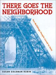 THERE GOES THE NEIGHBORHOOD by Susan Goldman Rubin