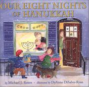 Cover art for OUR EIGHT NIGHTS OF HANUKKAH