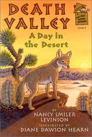 DEATH VALLEY by Nancy Smiler Levinson