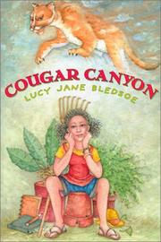 COUGAR CANYON by Lucy Jane Bledsoe