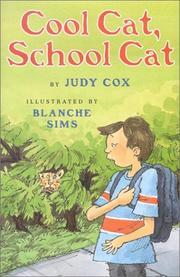 COOL CAT, SCHOOL CAT by Judy Cox