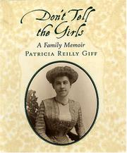DON'T TELL THE GIRLS by Patricia Reilly Giff