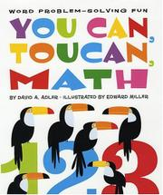 YOU CAN, TOUCAN, MATH by David A. Adler