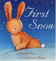 Cover art for FIRST SNOW