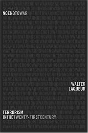 NO END TO WAR by Walter Laqueur
