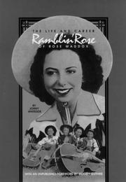 RAMBLIN' ROSE by Jonny Whiteside