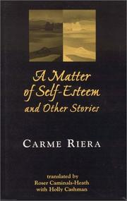 A MATTER OF SELF-ESTEEM by Carme Riera