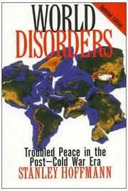 WORLD DISORDERS by Stanley Hoffmann