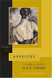 POET OF THE APPETITES by Joan Reardon