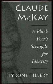 CLAUDE McKAY by Tyrone Tillery