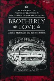 BROTHERLY LOVE by Charles Hoffmann