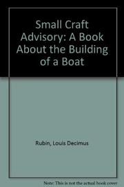 SMALL CRAFT ADVISORY by Louis D. Rubin