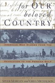 FOR OUR BELOVED COUNTRY by Speer Morgan