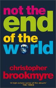 Book Cover for NOT THE END OF THE WORLD