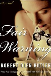 Cover art for FAIR WARNING