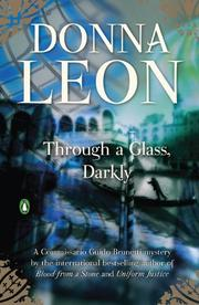 Book Cover for THROUGH A GLASS DARKLY