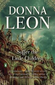 Cover art for SUFFER THE LITTLE CHILDREN