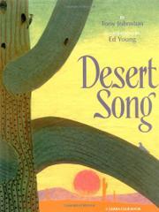 DESERT SONG by Tony Johnston