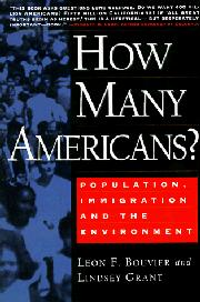 HOW MANY AMERICANS? by Leon F. Bouvier