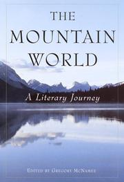 Cover art for THE MOUNTAIN WORLD