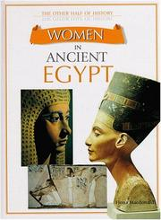WOMEN IN ANCIENT EGYPT by Fiona Macdonald