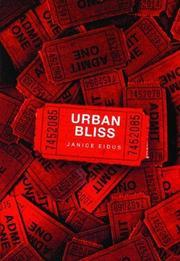URBAN BLISS by Janice Eidus