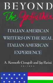 BEYOND THE GODFATHER by A. Kenneth Ciongoli