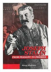 JOSEPH STALIN by Nancy Whitelaw