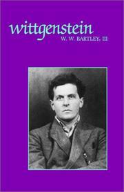 WITTGENSTEIN by William Warren III Bartley