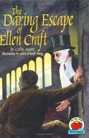 THE DARING ESCAPE OF ELLEN CRAFT by Cathy Moore