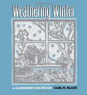 Cover art for WEATHERING WINTER