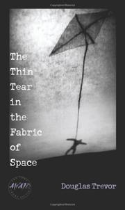 Book Cover for THE THIN TEAR IN THE FABRIC OF SPACE