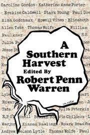 Cover art for A SOUTHERN HARVEST
