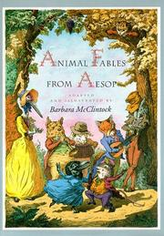 ANIMAL FABLES FROM AESOP by Barbara McClintock