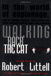 Cover art for WALKING BACK THE CAT