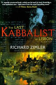 THE LAST KABBALIST OF LISBON by Richard Zimler