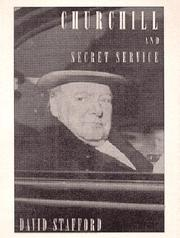 CHURCHILL AND SECRET SERVICE by David Stafford