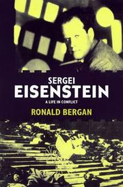 SERGEI EISENSTEIN by Ronald Bergan