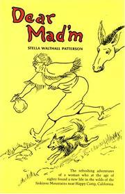 DEAR MAD'M by Stella Patterson