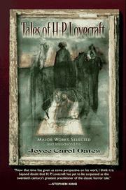 TALES OF H.P. LOVECRAFT by Joyce Carol Oates