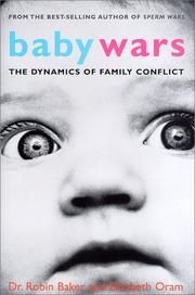BABY WARS by Robin Baker