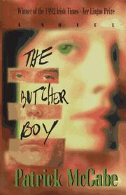 Cover art for THE BUTCHER BOY
