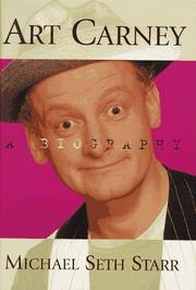 ART CARNEY by Michael Seth Starr