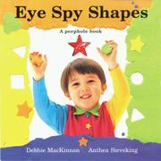 EYE SPY SHAPES by Debbie MacKinnon