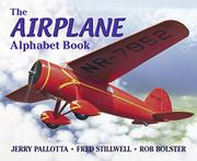 Cover art for THE AIRPLANE ALPHABET BOOK